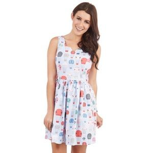 ModCloth Fevour Air Of Adorable Fit Flare Dress